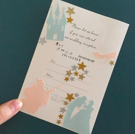 簡単デザイン14枚】結婚式の招待状の返信に100均シールはアリ