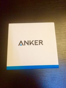 Anker SoundCore miniの箱