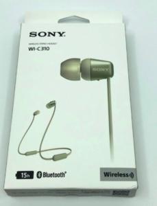 SONY WI-C310の遅延や音質